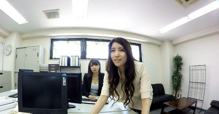 免費VR線上成人影片,VR線上A片,vr porn,vr online sex,vr web app,日本VR MIVR-002 女上司在辦公司用高跟鞋踩我JJ 女同事在旁邊看戲 杉崎絵里奈 水咲菜々美
